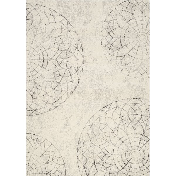 Blackstone White Area Rug by Bungalow Rose