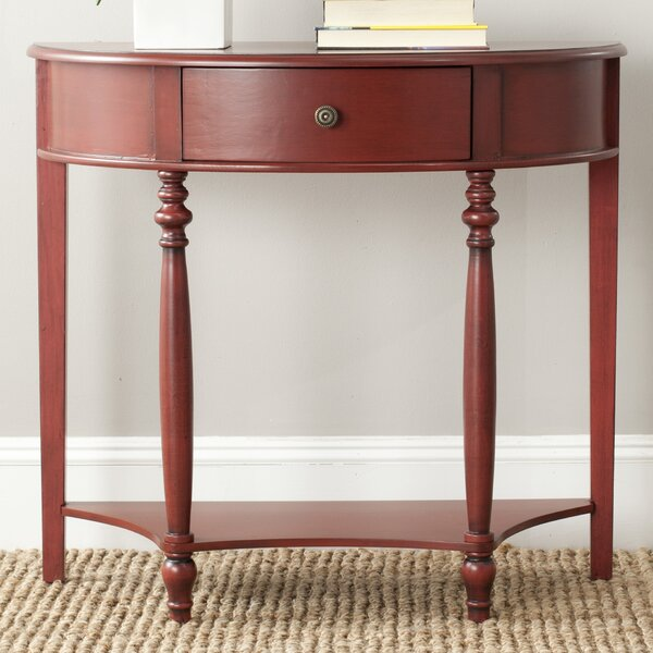 Kingery 34'' Solid Wood Console Table By Charlton Home
