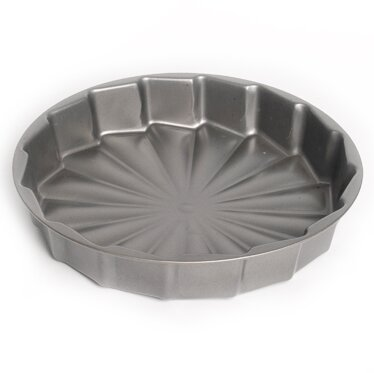 Non-Stick Round Celebration Cake Pan by p!zazz