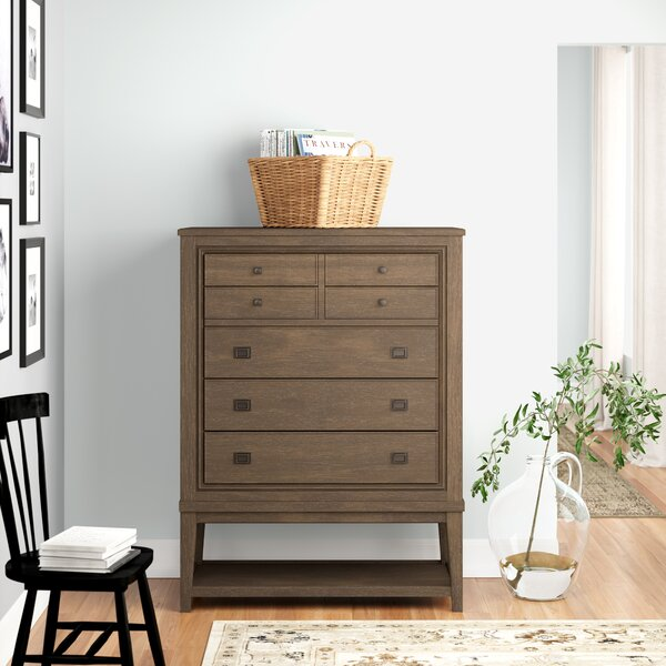 Medfield 7 Drawer Chest by Three Posts