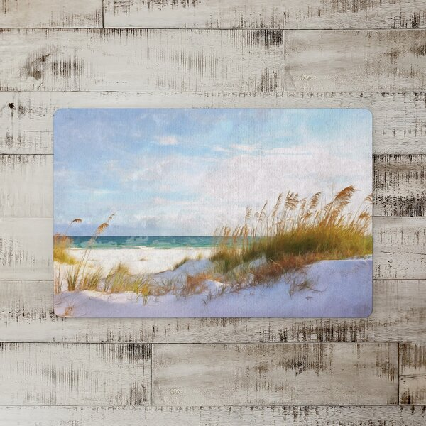 Hattie Painted Sand Dunes Kitchen Mat