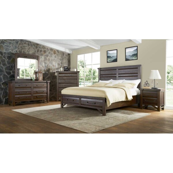 Bricelyn Platform Configurable Bedroom Set by Union Rustic