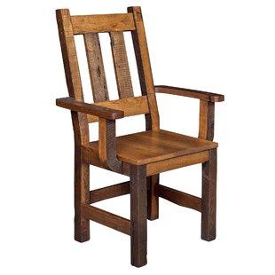 Rabon Solid Wood Armchair