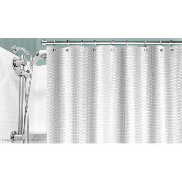 Lamberton Dobby Weave Shower Curtain by Winston Porter