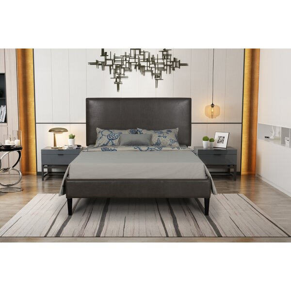 Barkhamsted Queen Upholstered Standard Bed by Ivy Bronx
