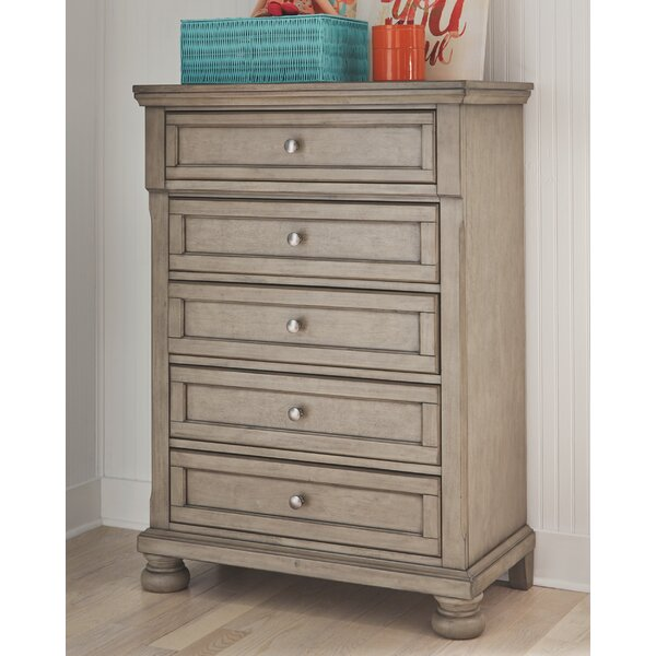 Dabria 5 Drawer Chest by Ophelia & Co.