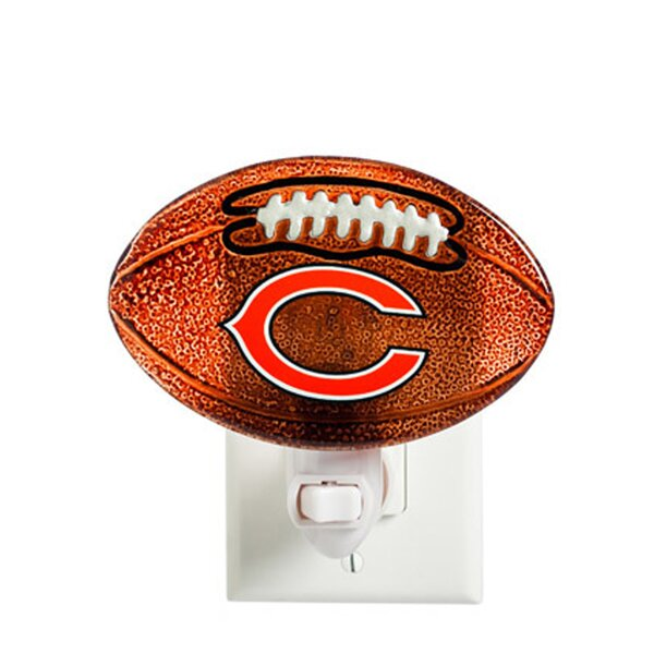 NFL Glass Night Light by Team Sports America