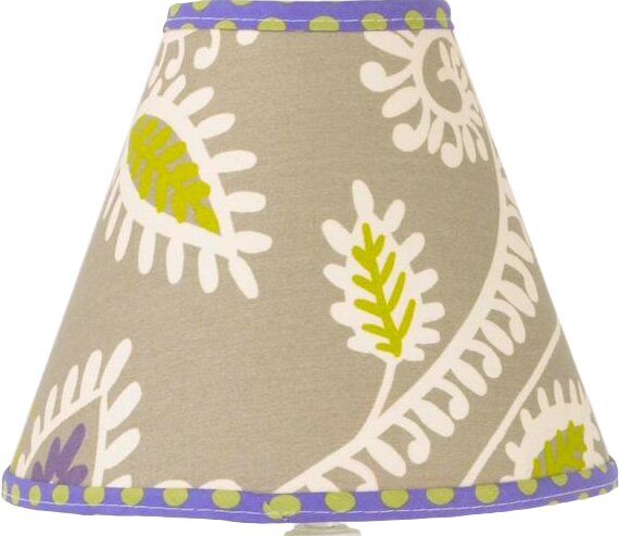 Bodnar 9 Cotton Empire Lamp Shade by Harriet Bee