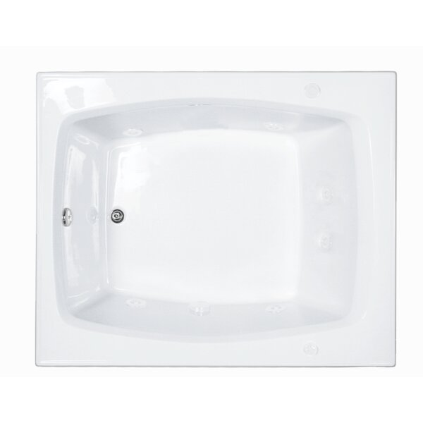 Reliance 59.25 x 47.5 Soaking Bathtub by Reliance