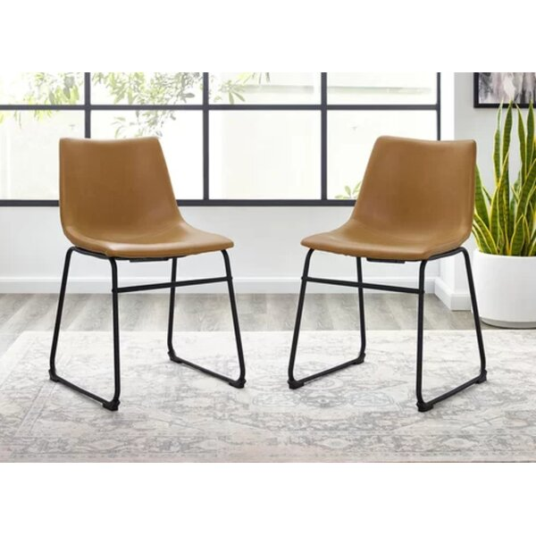 Skaghi Upholstered Dining Chair (Set Of 2) By Ebern Designs
