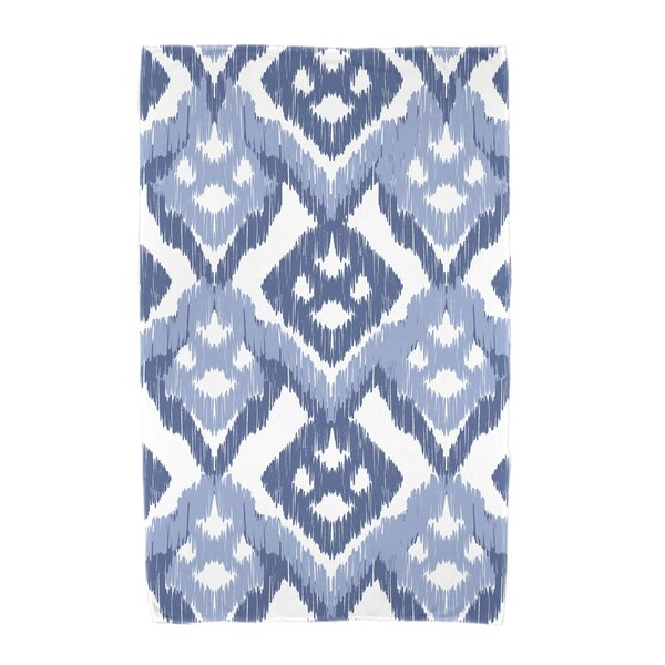 Willa Hipster Geometric Print Beach Towel by Bungalow Rose