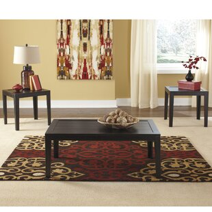 Find for Eunson 3 Piece Coffee Table Set By August Grove