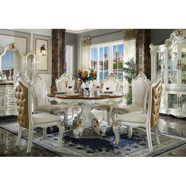 Yvonne 7 Pieces Dining Set by House of Hampton House of Hampton