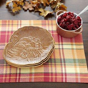 Turkey Dinner Plates (Set of 4) & Turkey Dinner Plates | Wayfair