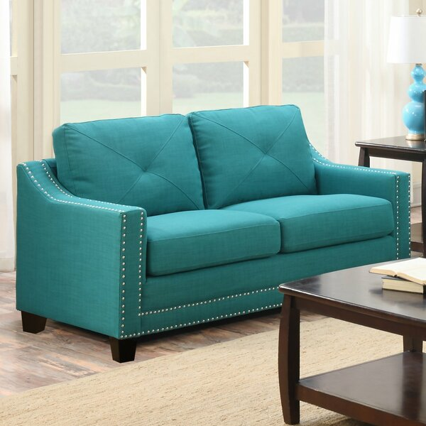 Get Name Brand Vaillancourt Loveseat by August Grove by August Grove