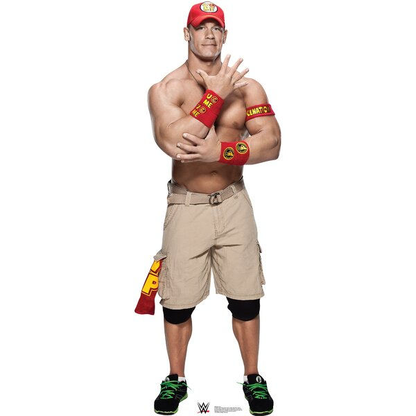 WWE John Cena Cardboard Standup by Advanced Graphics