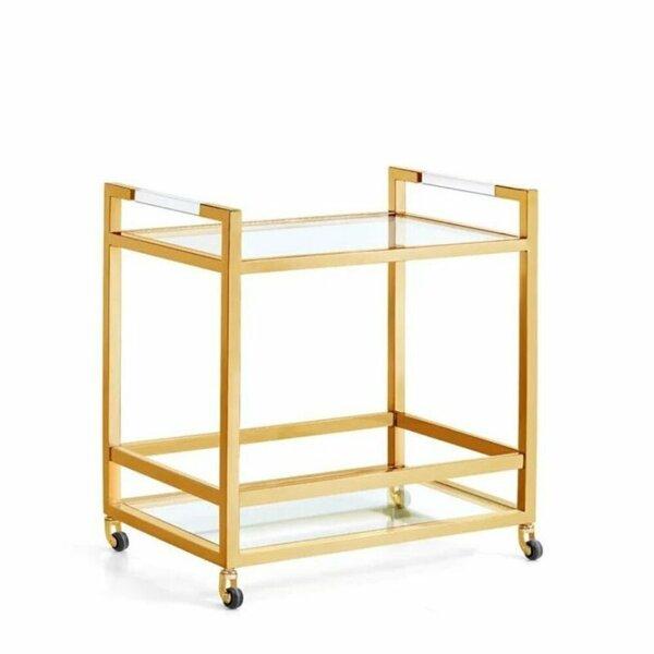 Odelle Broken Bar Cart By Latitude Run