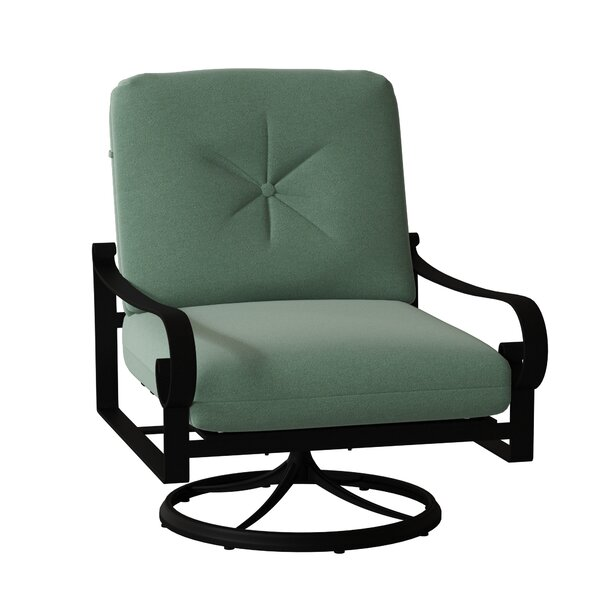 Belden Rocking Swivel Patio Chair by Woodard