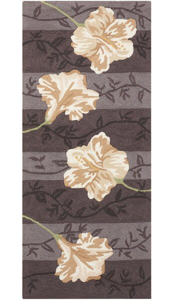 Shella Hand-Tufted Purple Area Rug by Winston Porter