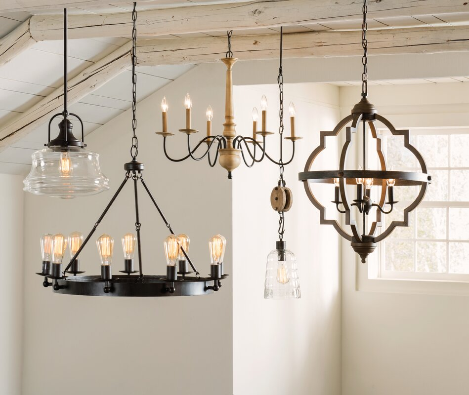Laurel foundry modern farmhouse nadine 1 light schoolhouse pendant nadine 1 light schoolhouse pendant mozeypictures Images