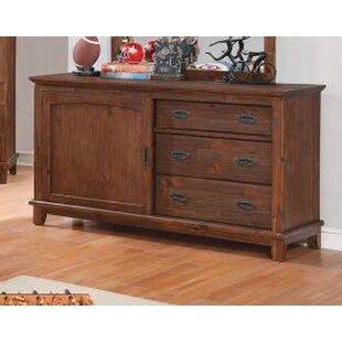 Best Price Scully 3 Drawer Double Dresser ByHarriet Bee