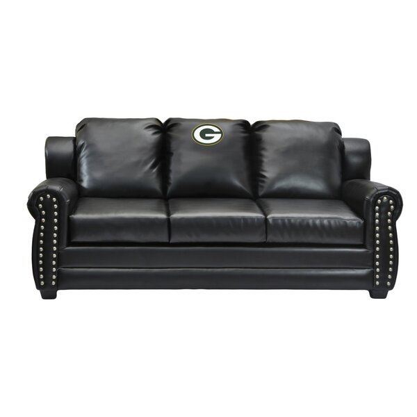 NFL Coach Leather Sofa by Imperial International