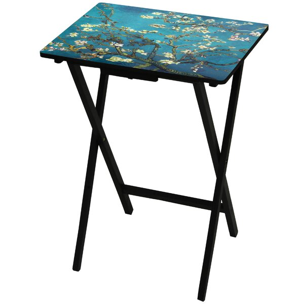 Van Gogh Almond Blossoms TV Tray by Oriental Furniture