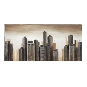 Painting Print on Wrapped Canvas by Cole & Grey