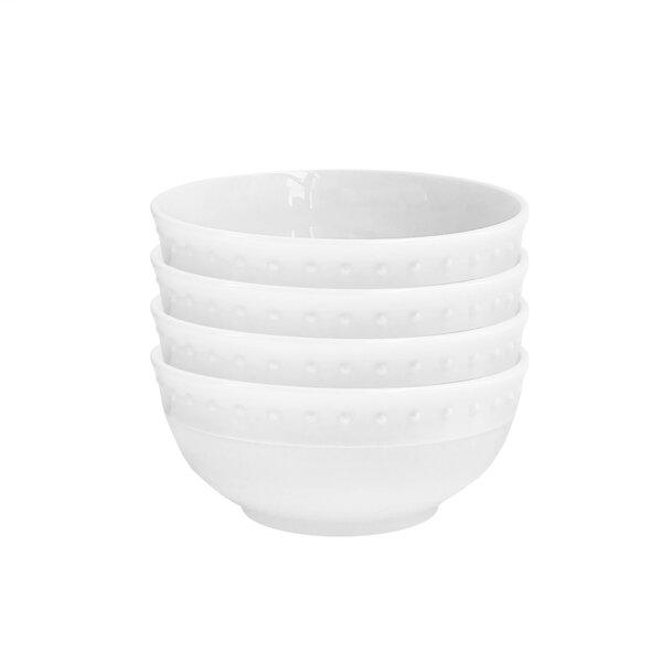 Monique Rice Bowl (Set of 4) by Elle Decor
