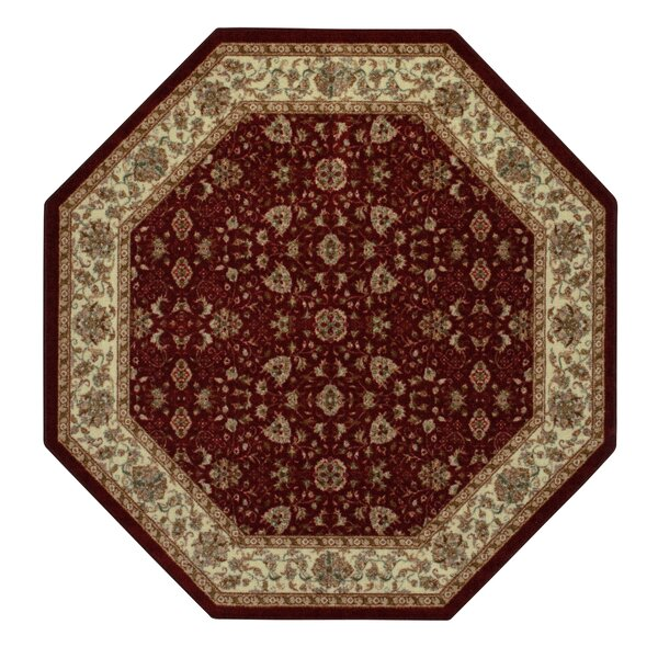 Amani Red Area Rug by Brumlow Mills