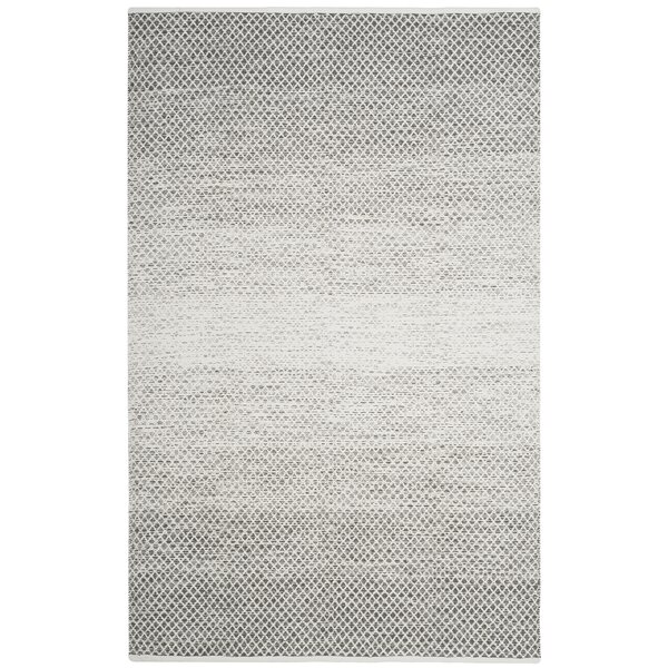 Amaya Hand Woven Gray Area Rug by Williston Forge