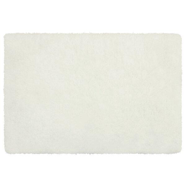 Hexham Plush White Area Rug by Mercer41