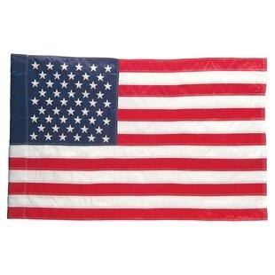 American 2 Sided Garden Flag