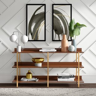 Rexdale Etagere Bookcase by Mercury Row