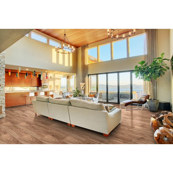 Berkley Lane 5 x 51 x 12mm Laminate Flooring in Greenland Creek Maple by American Concepts