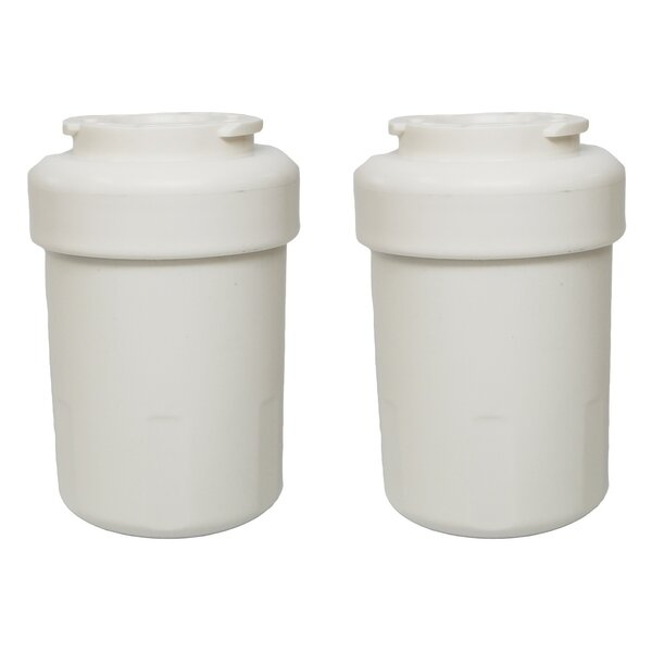 GE Refrigerator/Icemaker Water Purifier Filter (Set of 2) by Crucial