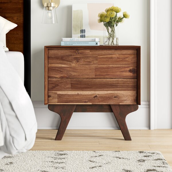 Adelaide 2 Drawer Nightstand by Foundstone