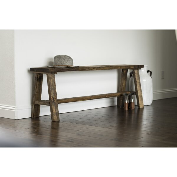 Ari Wood Bench by Union Rustic