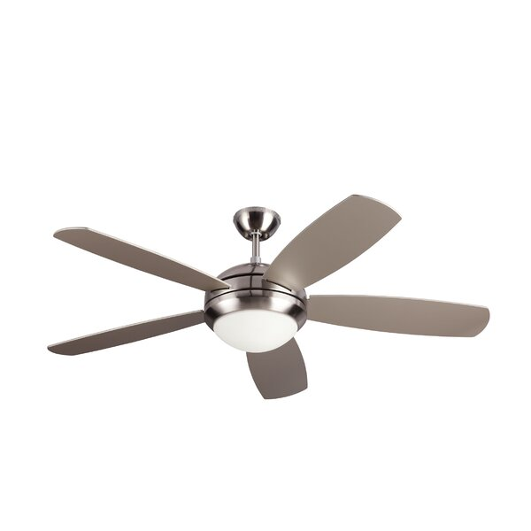 52 Sharp 5 Blade Ceiling Fan by Ebern Designs