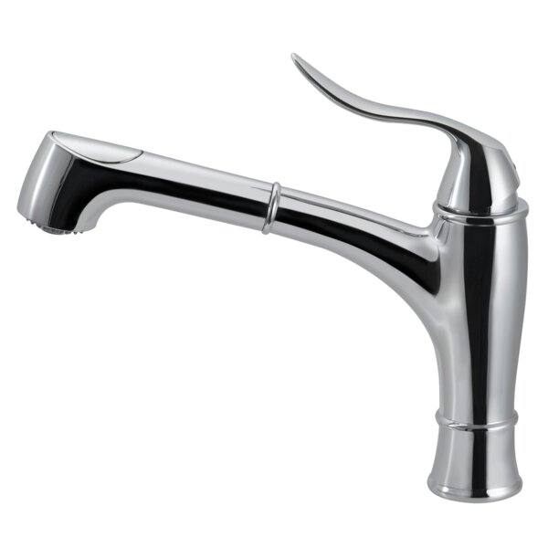 Surge Pull Out Single Handle Kitchen Faucet by Houzer