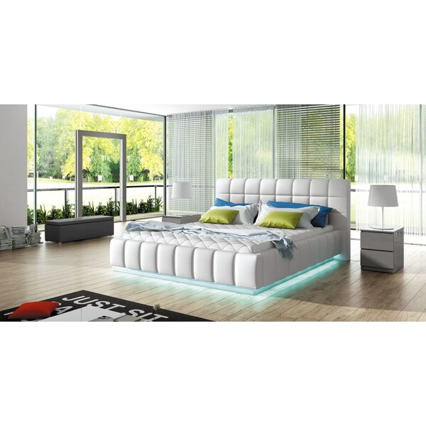 Chee King Upholstered Storage Platform Bed with Mattress by Orren Ellis