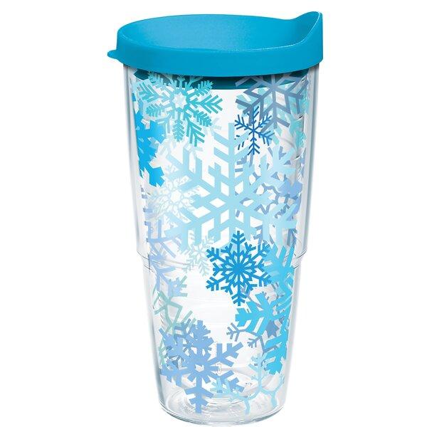 Snowflake 24 oz. Plastic Travel Tumbler by Tervis Tumbler
