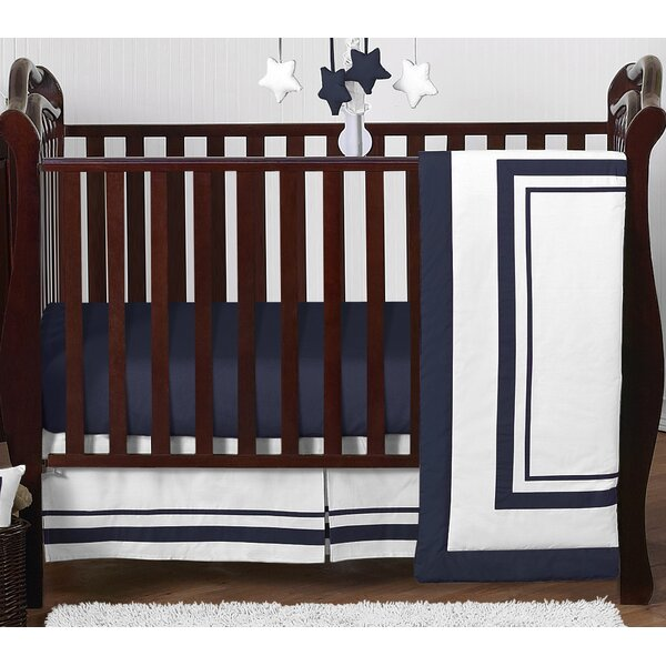 Hotel 4 Piece Crib Bedding Set by Sweet Jojo Designs