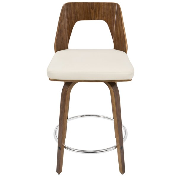 Emory 24 Swivel Bar Stool by Langley Street