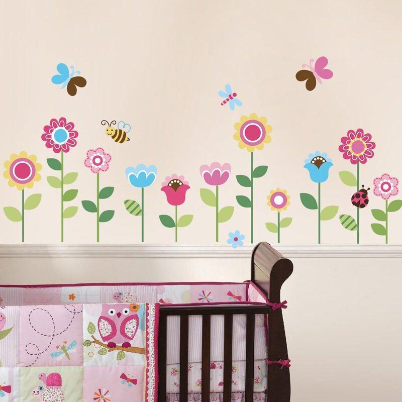 Cherrycreekdecals Lovely Garden Nursery Wall Decal Wayfair