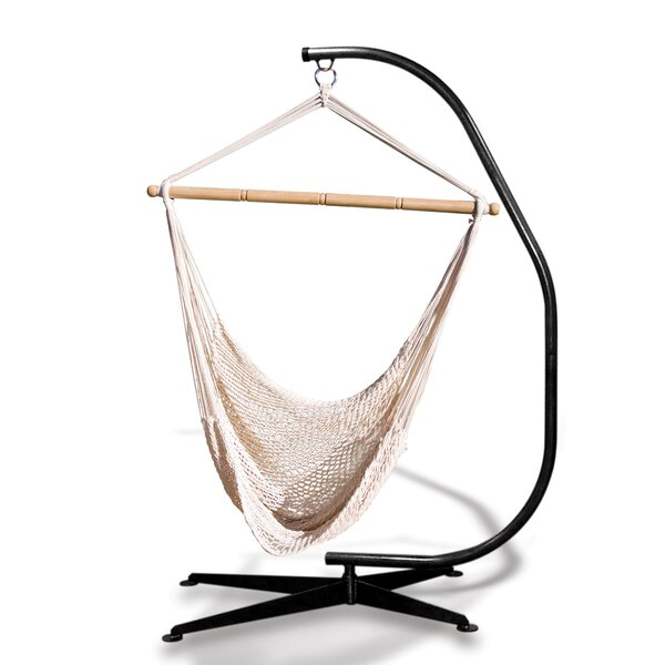 Suelo Stand Cotton Chair Hammock with Stand by Hammaka