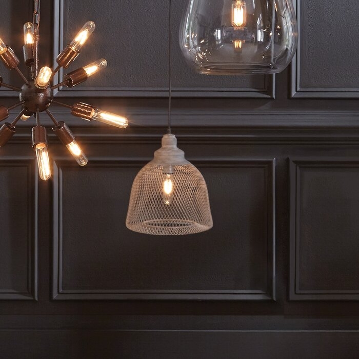 Bungalow Rose Gagliardi 1 Light Single Dome Pendant Wayfair