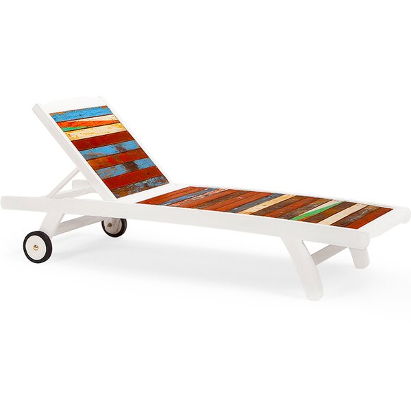 Second Wind Sun Bed Chaise Lounge by EcoChic Lifestyles