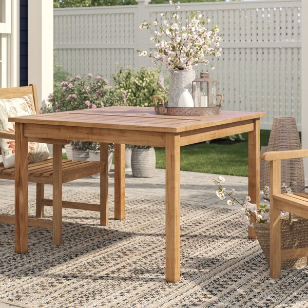 "Summerton Teak Dining Table By Birch Laneâ""¢ Heritage"