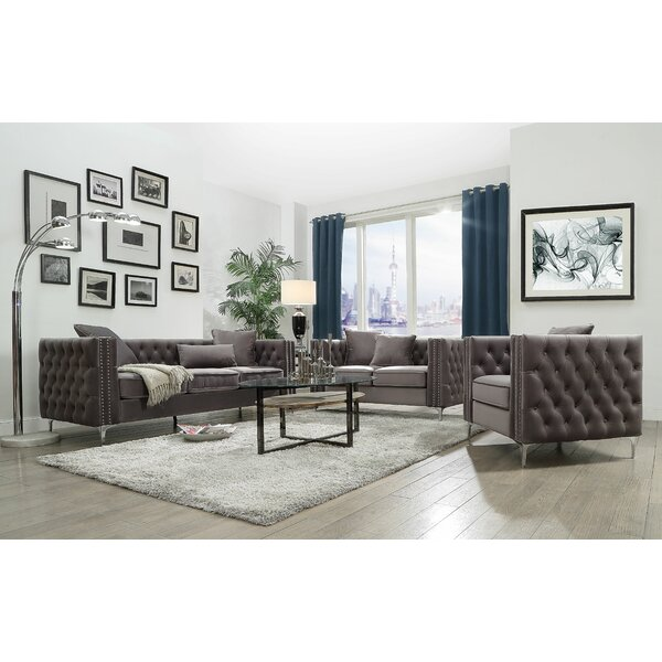 #1 Garza Configurable Living Room Set By Everly Quinn Fresh